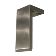 Furniture Leg - 100mm - Stainless Steel Finish