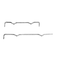 Shelf Support  - 288mm - Zinc