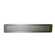 Cabinet Flush Handle - 176mm -  DSN Finish