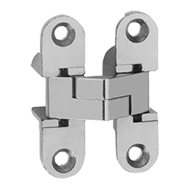 Furniture Hinge  - Nickel Plated Finish