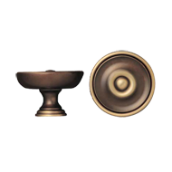 Cabinet Knob - 35mm - Antique Bronze Fi