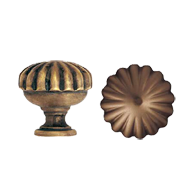 Door Knob - 70mm - Antique Bronze Finish