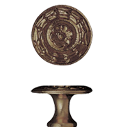 Cabinet Knob - 27mm - Antique Bronze Fi
