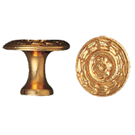 Cabinet Knob - 27mm - Orro Antique Finish