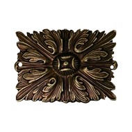 Furniture Carving - 48mm -  Antique Bronze Finish
