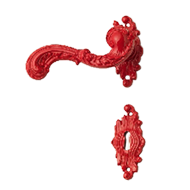 ROCOCO POP Lever Handle in Re