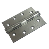 Ball Bearing Butt Door Hinges - Satin Finish - 102X76X3mm - 2BB