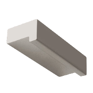 Aluminium Profile Handle - Aluminum Finish