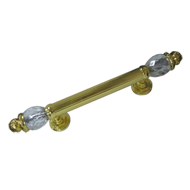 Door Pull Handle - 375mm - Gold Plated Finish
