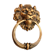Door Knocker - Antique Bronze Finish