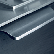 OPUS Cabinet Handle - 200mm - Inox Look Modern Design