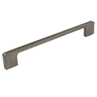 Modern Cabinet Handle -  140mm - Graphite finish
