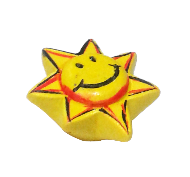 Emotions Happy Star Cabinet Knob - Multicolour Finish