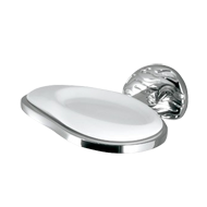 Afrodite Soap Dish - Polished Chrome Fi