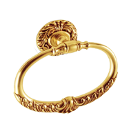 Calliope Tower Ring - Old Gold Finish