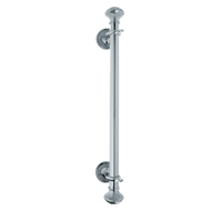 Door Pull Handle in Chrome Finish - 600mm