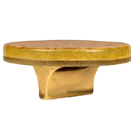 KLIMT Jewellery Round Cabinet  Knob in Gold Finish