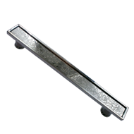 Door Pull Handle  450mm - Bright Chrome
