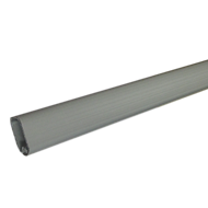 Oval Aluminum Profile with PVC - Length