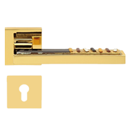 SINTESI M16 Door Lever Handle in Gold P