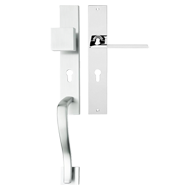 JET DX Entrance Set - 8X85mm - Polished Chrome Finish