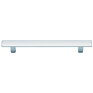 Modern Cabinet Handle - 128mm - Polished Chrome Finish
