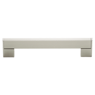 Modern Cabinet Handle - 160mm - Nickel Matt Finish