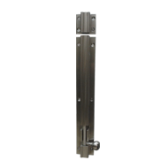 Heavy Tower Bolt - 8 Inch - Stainless Steel Finish