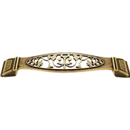 Cabinet Handle - 96mm - Antique Bronze Finish