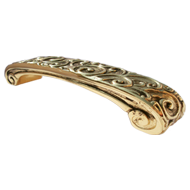 Cabinet Handle - 96mm - Castellana Gold Finish
