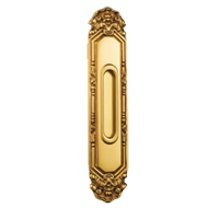 GINEVRA Flush Handle - Old Gold Plated
