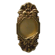 GINEVRA Flush Door Handle - Old Gold Pl