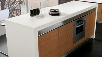 Table Extension Fitting - Sliding Worktop - 2600 - SNACK