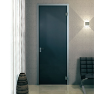Door Frame anodised aluminium for hinged doors - 950 X 2500mm