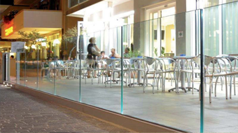 Profile for Glass Railings - adjustable railing system  G