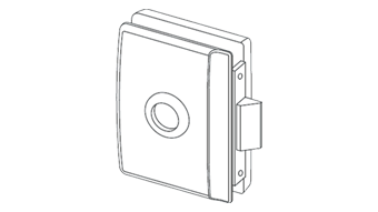 Minima Lock - Latch Function - Satin Chrome Finish