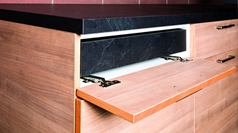Table Extension Fitting - Pull Out worktop - 900mm  - OPL